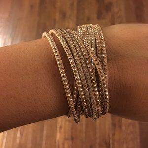 Brand new Swarovski slake bracelet
