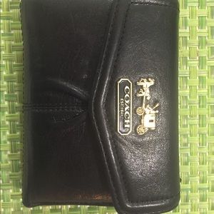 Limited edition COACH leather wallet