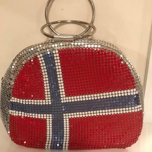 Norway flag hand bag