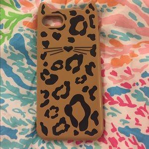Kate Spade silicon iPhone 7 case