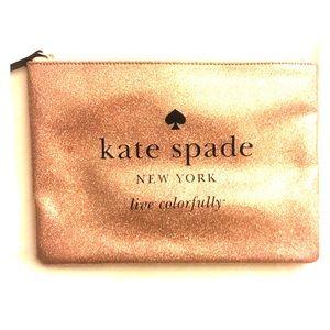 Kate Space Glitter Clutch