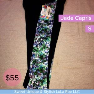 Jade Capri yoga athletic pants