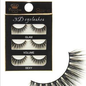 🆒3 pairs 3D false eyelashes 🆒