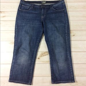 Old Navy Crop Capri denim Jeans Size 12