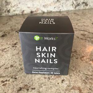 It works! Hair Skin Nails