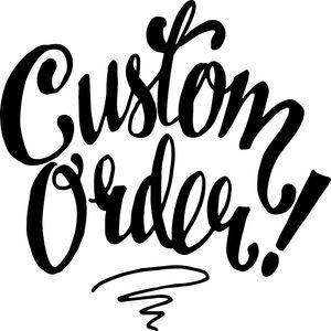 Custom Listing for @chryzdal6937