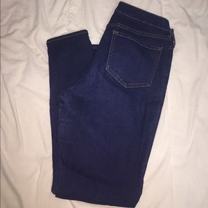 Dark wash old navy jeans