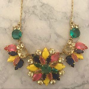 Kate Spade New York floral kaleidoscope necklace