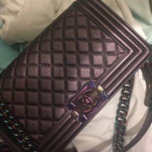 Beautiful Purple Mermaid Inspired Bag