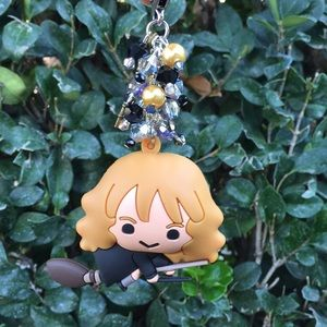 Harry potter hermoine  fob with cute wand charm