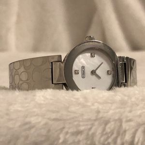 Stainless Steel Coach Watch