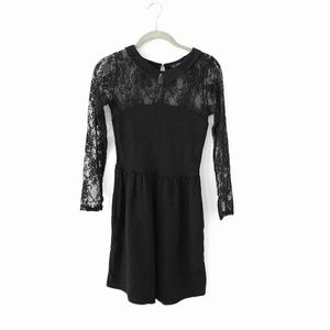 Zara Trafaluc Peter Pan Lace Dress
