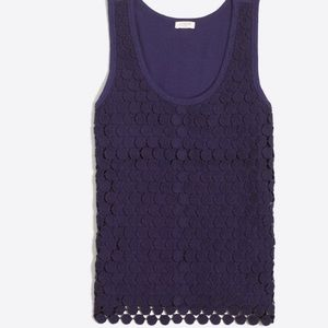 Tiered dot tank top from J.Crew Factory