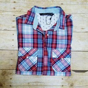 Plaid Zara Button Down Shirt
