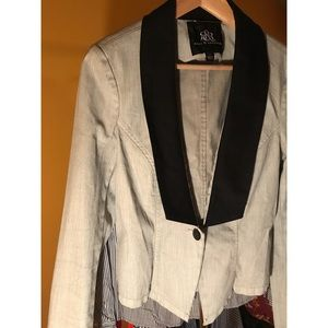 Light Blue Jean Rock & Republic Blazer