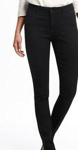 BLACK Old Navy Midrise Origional Skinny Jeans