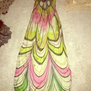 Milly size 6 strapless dress