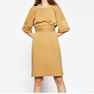 Zara Trafaluc tie dress