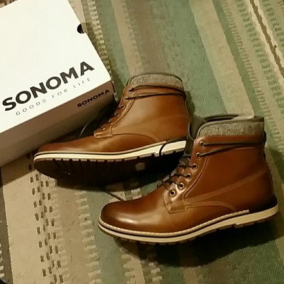 2e153d4e613 Mens Sonoma Boots NWT