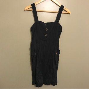 Dresses & Skirts - Navy Blue Crinkle Dress