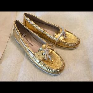 Michael Kors Loafers Gold 9.5 M