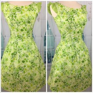 👗💚💚💚 Gorgeous Vintage Pinup Green Lime Dress