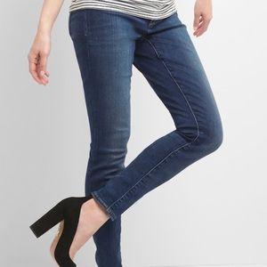 Gap Maternity inset panel skinny jeans, size 28