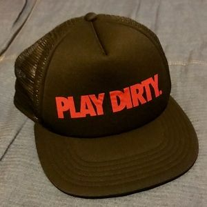 Trucker Hat Play Dirty Snap Back