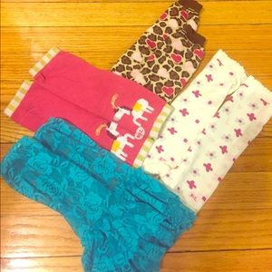 Baby Leg Accessories - 4 pairs of leg warmers