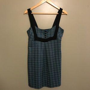 Dresses & Skirts - Blue houndstooth dress