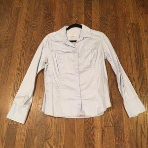 Blue Merona work shirt.