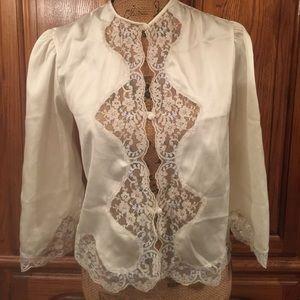 Vintage Victoria's Secret Bed Jacket