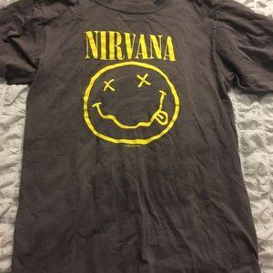 Vintage 1992 Nirvana band Tshirt