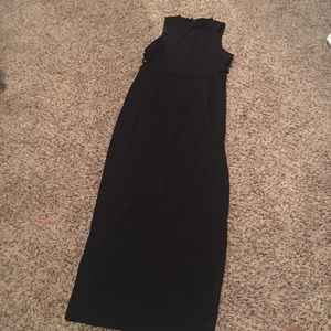 LuLu's Intents and Purposes Black Maxi Sz XL NWOT