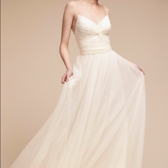 ff4f991fe72e NEW Bhldn Tinsley Wedding Dress. M_59ee8f713c6f9ff3980fdc09