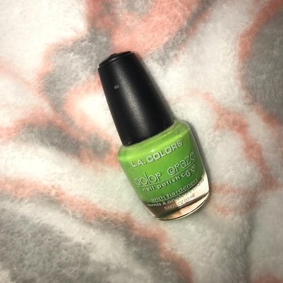L.A. Colors Makeup   New La Colors Green Color Craze Nail Polish ...