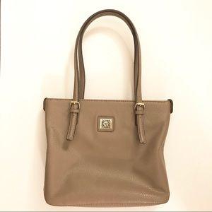 Anne Klein Perfect Tote Shopper Handbag in Tan
