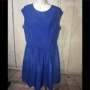 Mossimo royal blue dress size large