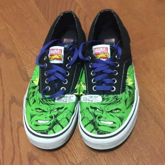 Limited Edition Marvel Vans