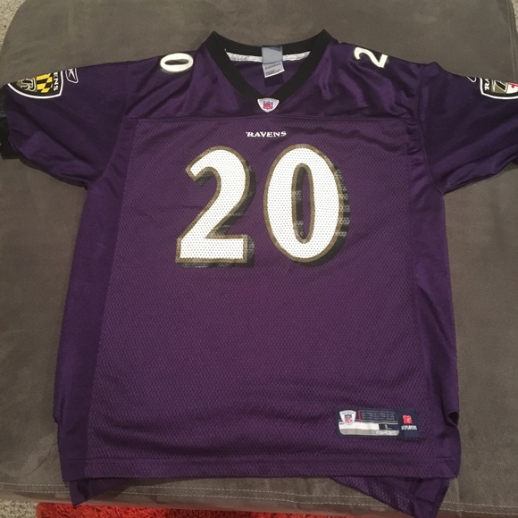 Baltimore Ravens Reebok Ed Reed Jersey