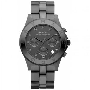 Marc Jacobs's MBM3103 Gray Watch