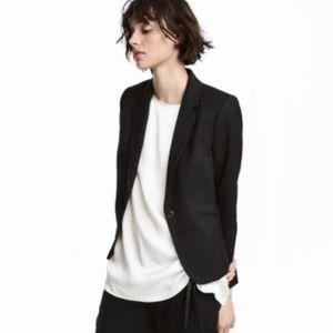 H&M NWOT Black Blazer size 8