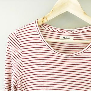 Madewell striped long sleeve shirt