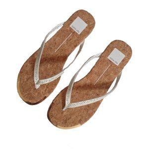NWOB [Dolce Vita] White Stella Thong Slide Sandals