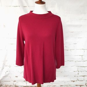 Ann Taylor LOFT Red Shirt