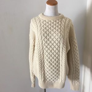 Vintage Fisherman Sweater