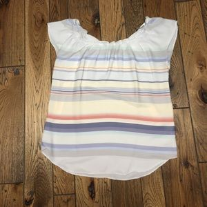 Striped LC Lauren Conrad Top