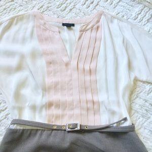 Ann Taylor light pink dress