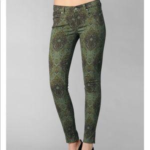 PAIGE Verdugo Ultra Skinny Estate Green Jeans