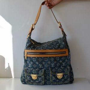 87683a5d7b06 Louis Vuitton Bags - Authentic Louis Vuitton Blue Jean Bag
